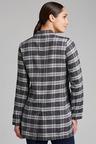 Grace Hill Linen Blend Check Jacket
