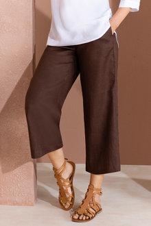 Grace Hill Linen Culottes