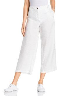 Grace Hill Linen Culottes - 229968
