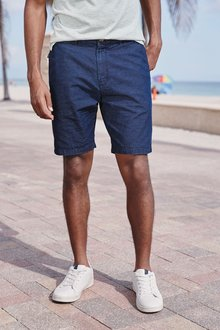Next Horizontal Stripe Chino Shorts