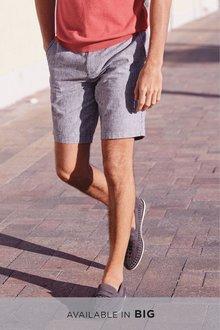 Next Stripe Chino Shorts
