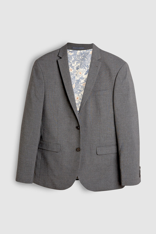 Next Stretch Marl Suit: Jacket- Regular Fit