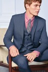 Next Stretch Marl Suit: Trousers- Skinny Fit