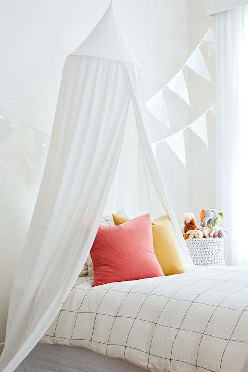 Cotton Bed Canopy