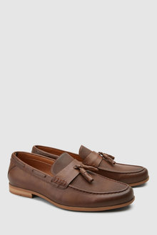 Next Textured Tassel Loafer - 230055