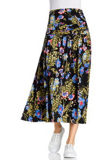 Capture Gather Waist Skirt - 230085