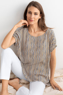 Capture Stripe Top