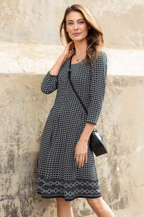 Capture Fit and Flare Dress