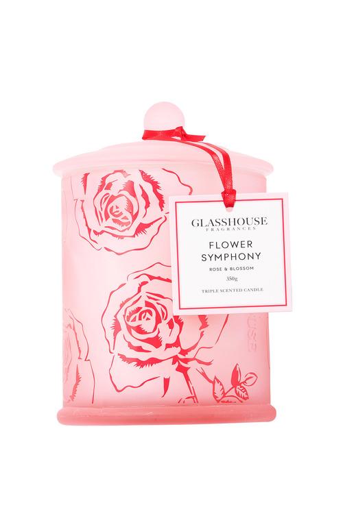 Glasshouse Flower Symphony Candle 350g
