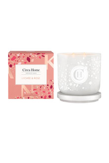 Circa Home Lychee & Rose candle 260g