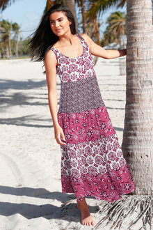 Urban Tiered Maxi Dress - 230195