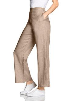 Emerge Linen Wide Leg Pant