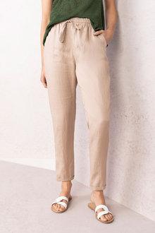 Emerge Linen Cuffed Pant - 230211