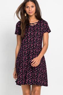 Urban Floral Print Dress - 230218