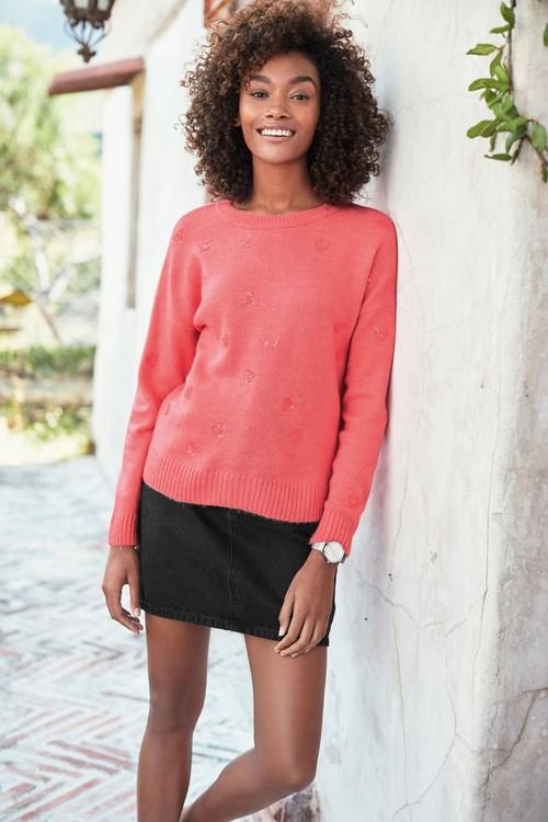Next Denim Skirt-Tall