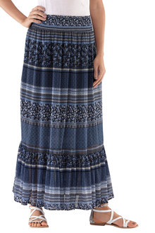 Capture European Frill Maxi Skirt