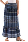 Euro Edit Frill Maxi Skirt