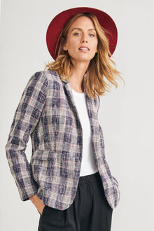 Capture Spring Check Blazer - 230397