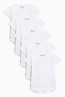 Next Short Sleeve T-Shirts Five Pack (3mths-7yrs)