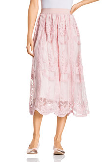 Grace Hill Embroidered Skirt - 230415