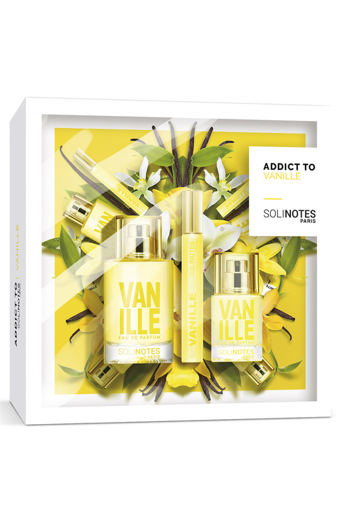 Solinotes Colorblock Vanilla EDP 3pc Set