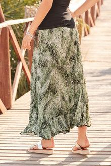 European Collection Crinkle Maxi Skirt