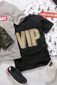 Next Slogan VIP T-Shirt (3-16yrs)
