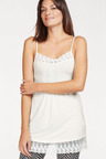 Urban Camisole with Lace Trim