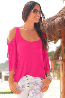 Urban Cold Shoulder Top - 230530