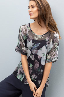Grace Hill Drapey Top