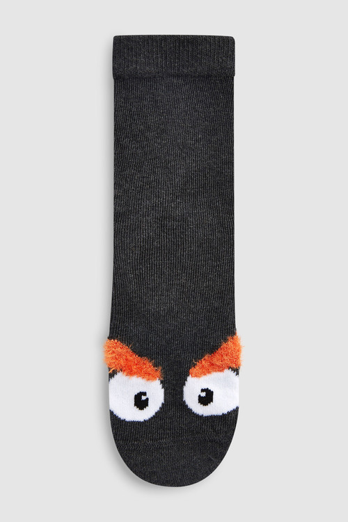 Next Monster Comfort Socks Five Pack (Older)
