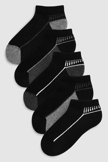 Next Cushioned Sole Trainer Socks Five Pack (Older) - 230594