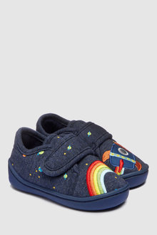 Next Rainbow Rocket Slippers (Younger)