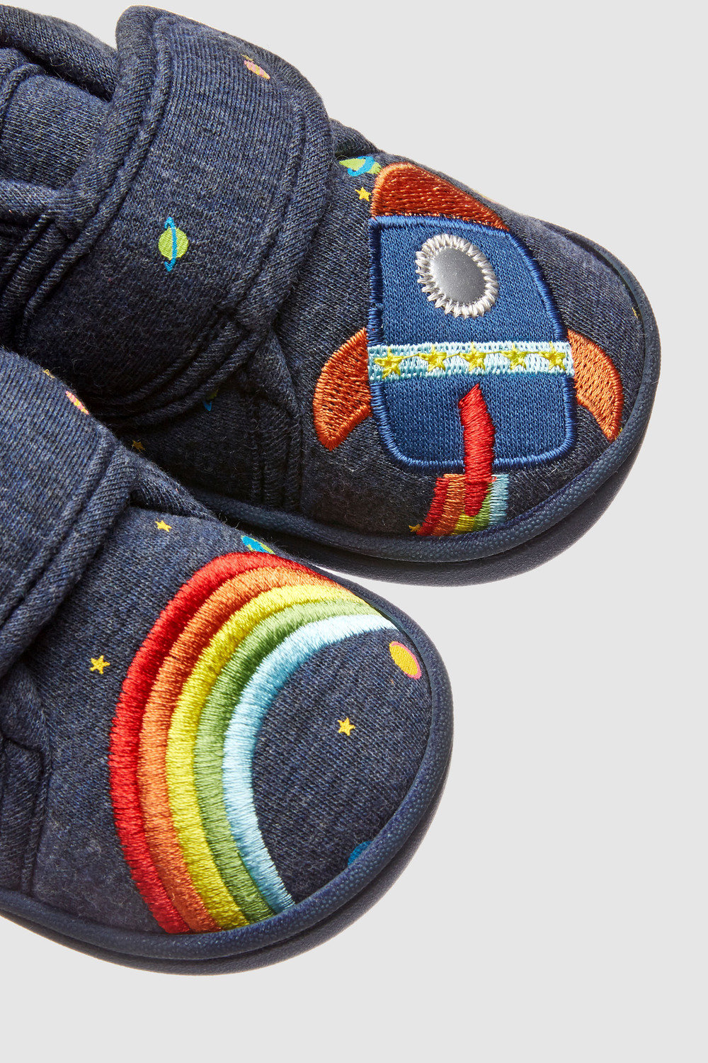 51860e0b9 Next Rainbow Rocket Slippers (Younger) Online | Shop EziBuy