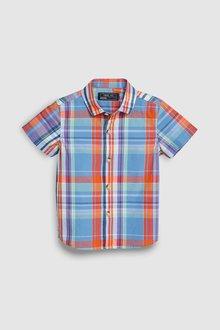 Next Smart Short Sleeve Shirt (3mths-7yrs)