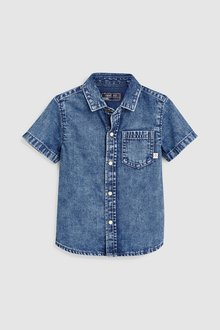 Next Short Sleeve Shirt (3mths-7yrs)