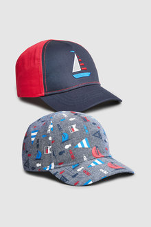 Next Nautical Caps Two Pack (Younger)
