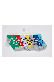 Next Star Trainer Socks Seven Pack (Younger)