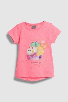Next Ice Cream Short Sleeve T-Shirt (3mths-7yrs)