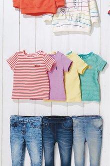 Next Fruity Short Sleeve T-Shirts Four Pack (3mths-7yrs)