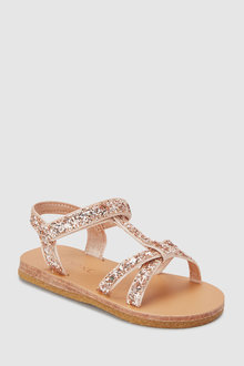 Next Glitter T-Bar Sandals (Younger)