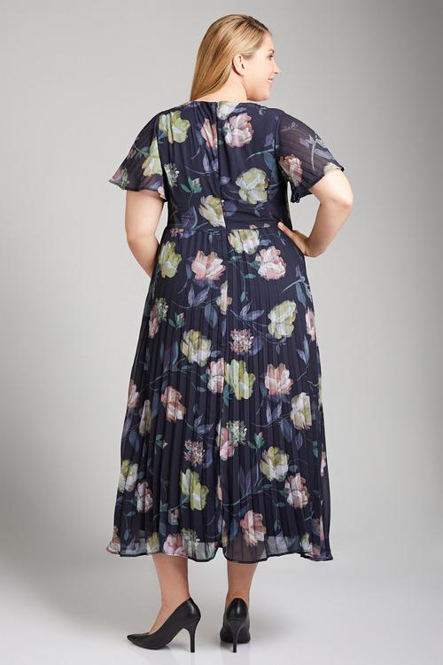 Plus Size - Sara Floral Maxi Dress