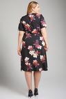 Plus Size - Sara Button Through Dress