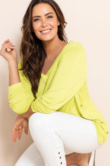 Plus Size - Sara Domed Sweater