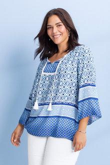 Plus Size - Sara Trim Kaftan