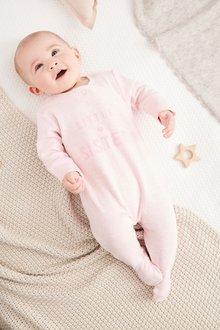 Next Sister Slogan Sleepsuit (0-18mths)