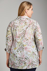 Plus Size - Sara Button Thru Swing Shirt