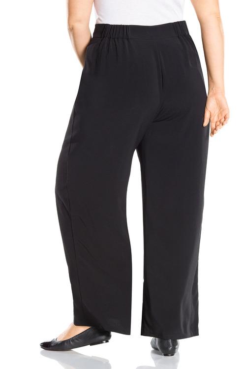 Plus Size - Sara Wide Leg Drape Pant