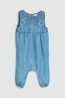 Next Lace Dungarees (0mths-2yrs)