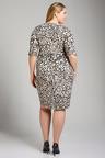 Plus Size - Sara Drape Pocket Dress